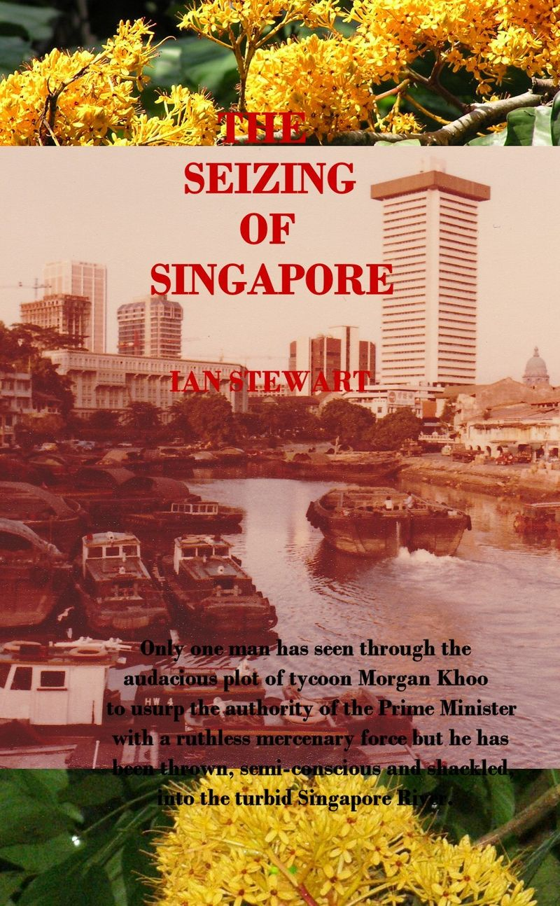 The Seizing Of Singapore - cover
